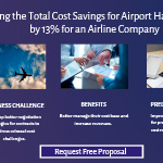 Increasing the Total Cost Savings for Airport Handling Spend by 13% for an Airline Company.