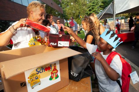 """Henry Schein, Inc. is helping nearly 5,000 kids around the world return to the classroom with confidence through its """"Back to School"""" program. (Photo: Business Wire)"""