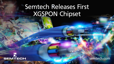 Semtech XGSPON product (Graphic: Business Wire)