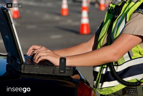 FirstNet Certified Secure USB800 USB Modem by Inseego. (Photo: Business Wire)