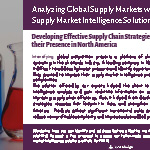 Analyzing Global Supply Markets with the Aid of Supply Market Intelligence Solution.