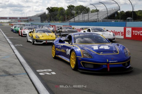 The Watkins Glen races is the second of four events in the 2019 Saleen Cup, a single-make series highlighting the capabilities of the new Saleen 1 turbocharged 450 horsepower sports car. (Photo: Business Wire)