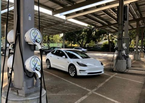 PowerFlex Systems' Adaptive Charging Network will enable a single ecosystem for distributed energy- integrating EV smart charging, solar, storage and facility load. (Photo: Business Wire)