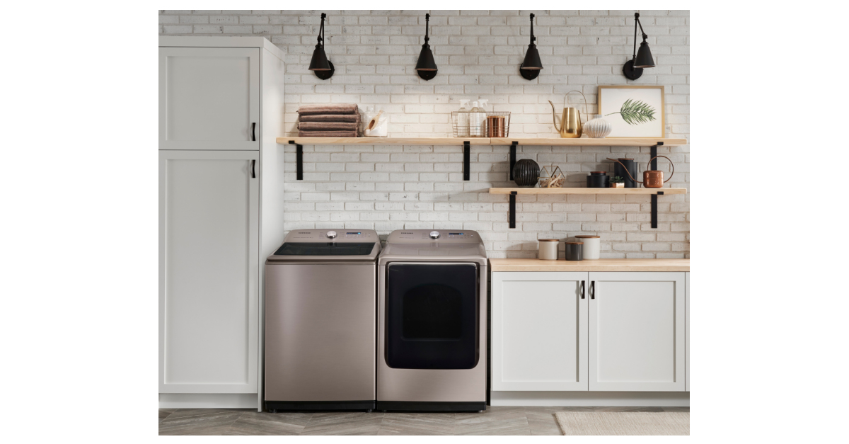 Samsung Brings The Elegance Of Champagne To Top Load Laundry Business Wire