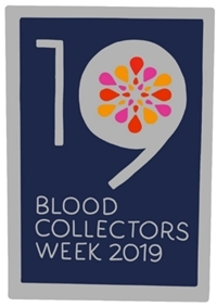 An annual tradition of Blood Collectors Week is the creation of a commemorative pin for blood collection professionals. This year 26,000 pins were distributed nationwide. (Photo: Business Wire)
