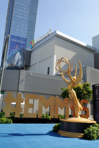 AEG and the Television Academy have signed a new multi-year agreement to continue hosting the Emmy® Awards ceremony at L.A. LIVE's Microsoft Theater. (Photo: Business Wire)
