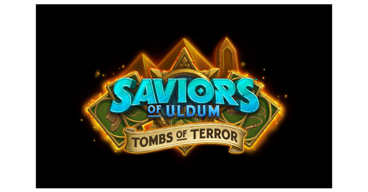 Delve Into The Deadly Tombs Of Terror In Hearthstone S Next Solo Adventure Business Wire At logolynx.com find thousands of logos categorized into thousands of categories. delve into the deadly tombs of terror
