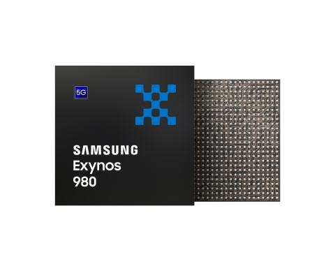 Samsung's newest 5G-integrated mobile processor, the Exynos 980. (Photo: Business Wire)