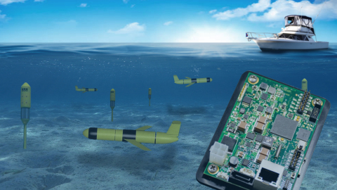"""PopotoModem enabling the """"internet of underwater things"""" (Photo: Business Wire)"""