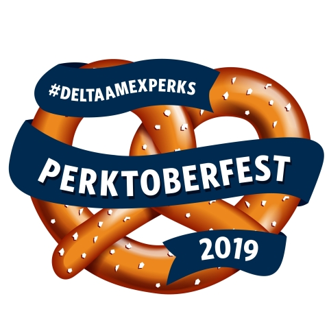 American Express and Delta Air Lines will bring fall treats to Card Members across the U.S. with the #DeltaAmexPerks Perktoberfest Tour. (Photo: Business Wire)