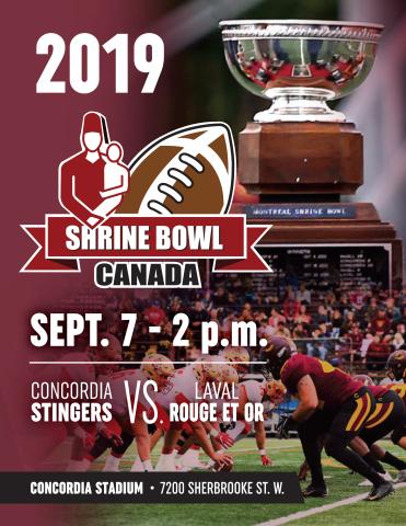 33rd Edition of Shrine Bowl Canada