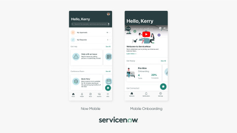ServiceNow announced the launch of native mobile experiences for everyday work across the enterprise with the general availability of its Now Platform New York release. (Photo: Business Wire)