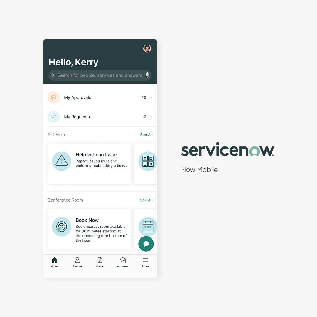 ServiceNow Delivers Native Mobile Experiences at Scale for