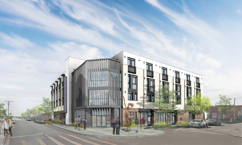 The Pointe on Vermont, an affordable and supportive housing development by EAH Housing and A2Z Enterprises (Graphic: Business Wire)