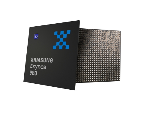 Samsung Introduces its First 5G-Integrated Mobile Processor, the Exynos 980 (Graphic: Business Wire)