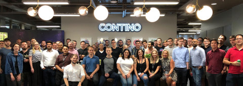 Contino Team at London HQ (Photo: Business Wire)