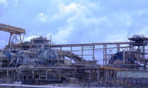 Newmont Goldcorp's Ahafo Mill Expansion in Ghana (Photo: Business Wire)