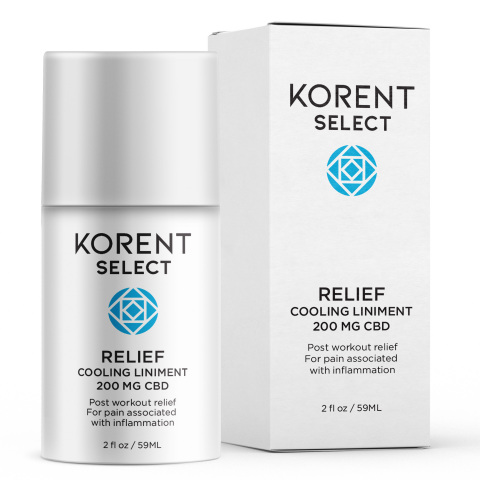 Korent Select Relief cooling liniment. (Photo: Business Wire)