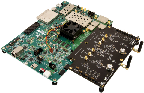 Avnet's new RFSoC Development Kit offers an easy-to-use platform for designers to develop wireless solutions with 5G capabilities. (Photo: Business Wire)