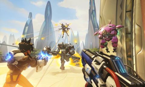 The world needs heroes in Overwatch, Blizzard Entertainment's acclaimed team-based game.  (Graphic: Business Wire)