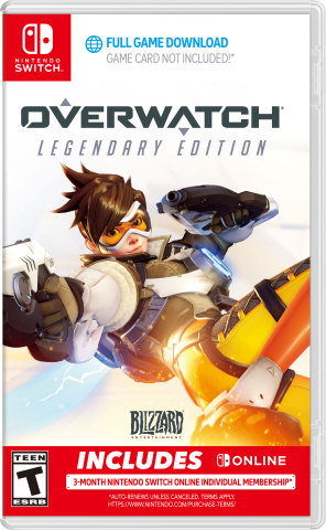 Fight for the future in Overwatch Legendary Edition, coming to Nintendo Switch on October 15, 2019.  (Photo: Business Wire)