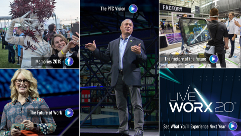 The annual LiveWorx event brought together more than 6,400 of the industry's greatest minds from more than 40 countries (with approximately 7,000 more live-streaming the event) with content spanning disruptive technologies including AR, IIoT, Industry 4.0 and more. LiveWorx 2020 will take place between June 8-11 in Boston's Innovation District.
