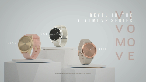 Introducing the new vívomove series (Photo: Business Wire)