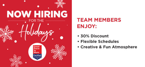 Michaels is Hiring for the Holidays (Photo: Business Wire)
