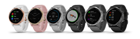The Garmin vivoactive 4/4S series (Photo: Business Wire)