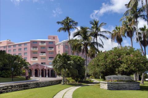Hamilton Princess & Beach Club, a Fairmont Managed Hotel (1885) Hamilton, Bermuda (Photo: Business Wire)