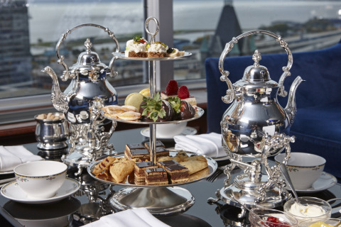 5 Reasons to Experience the Luxury Pfister Hotel's Afternoon Tea (Photo: Business Wire)