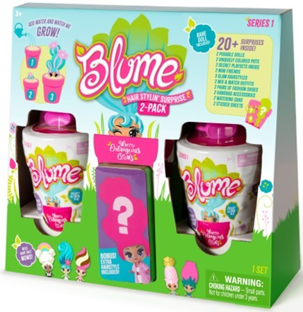 BJ's Wholesale Club released a preview of its exclusive Top 10 Toys list for 2019, which includes the Blume Hair Stylin' Surprise, 2 pk. (Photo: Business Wire)