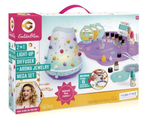 BJ's Wholesale Club released a preview of its exclusive Top 10 Toys list for 2019, which includes the Goldie Blox 2-in-1 Light-Up Diffuser & Aroma Jewelry Mega Set. (Photo: Business Wire)