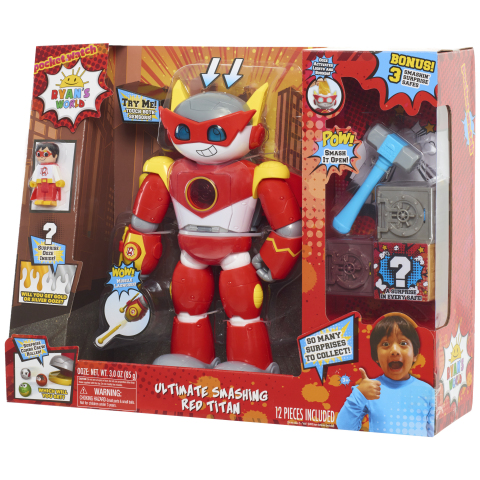BJ's Wholesale Club released a preview of its exclusive Top 10 Toys list for 2019, which includes the Ryan's World Ultimate Smashing Red Titan with BONUS Safe. (Photo: Business Wire)