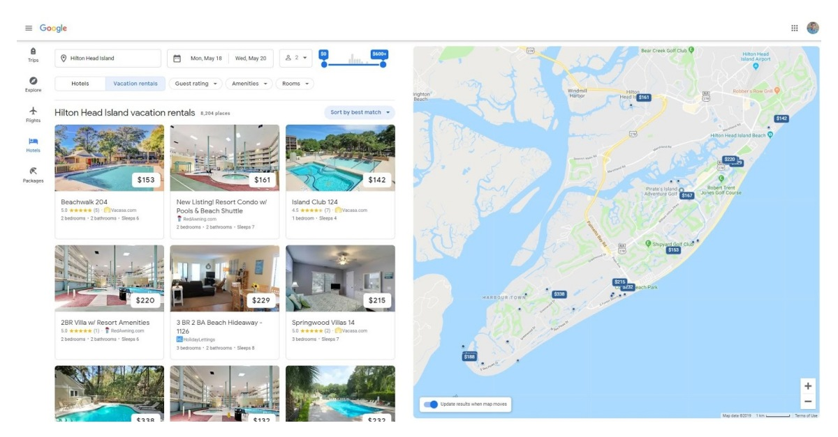 Vacasa Completes Direct Integration with Google for Vacation Rental Listings - RapidAPI