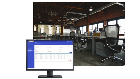 Workspace Intelligence software captures and measures building occupancy, utilization and optimization data to identify areas of cost reductions, efficiency improvements and potential revenue streams. (Photo: Business Wire)