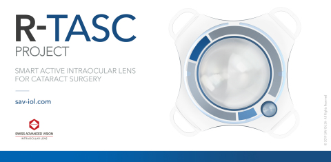 R-TASC - A Smart Active Intraocular Lens Project for Cataract Surgery (Photo: SAV-IOL)