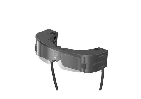 Graphic rendering of BAE Systems augmented reality glasses prototype, currently in headset form. (Photo: BAE Systems)