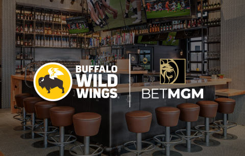 Buffalo Wild Wings and BetMGM (Photo: Business Wire)