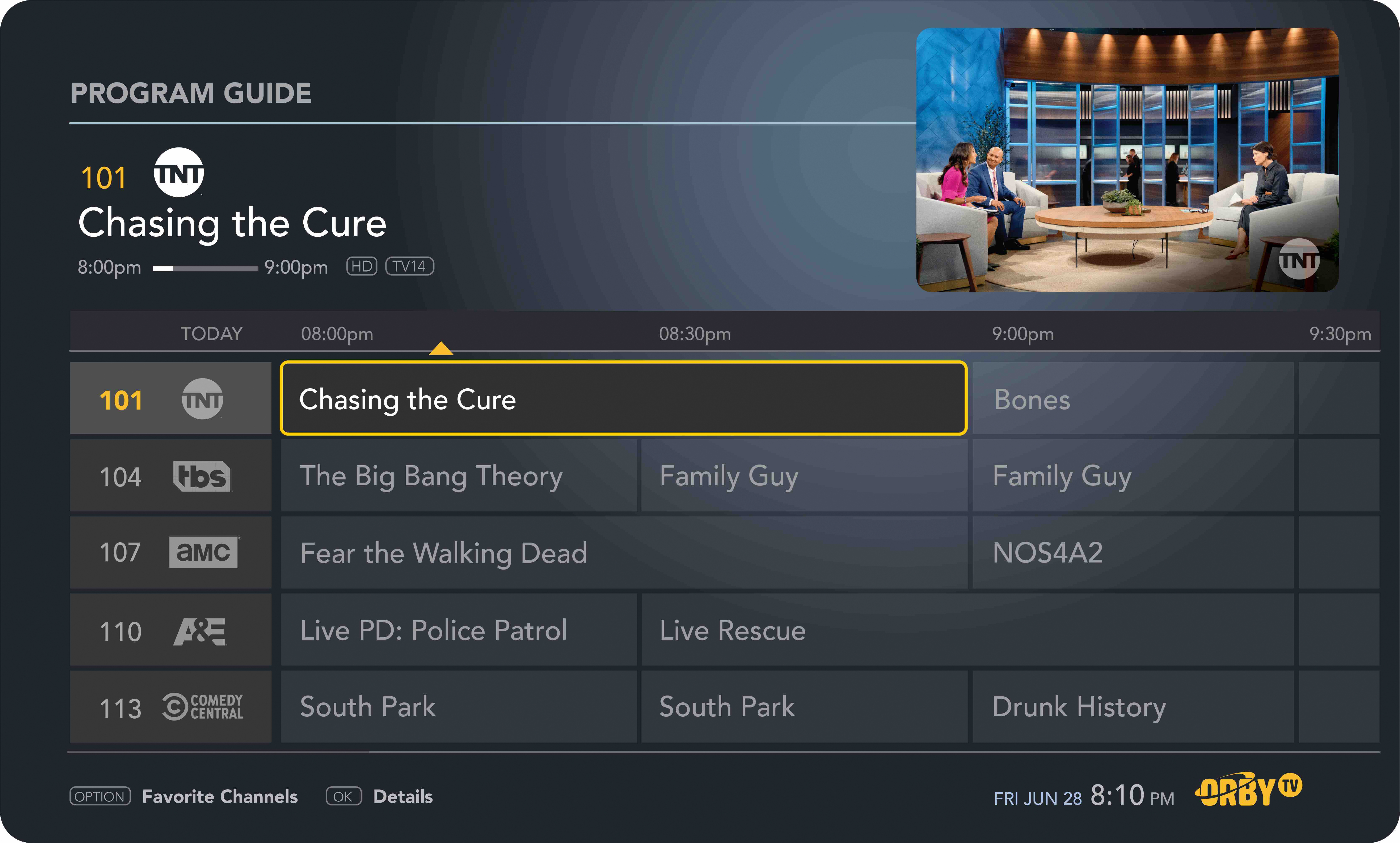 Tv Service Providers >> New U S Satellite Television Provider Orby Tv Announces