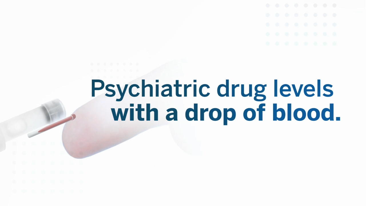 Saladax develops first-ever rapid test for an antipsychotic drug using a single drop of blood to aid psychiatrists in the treatment of schizophrenia.