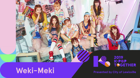 "K Pop Idol group, Weki Meki, is a Korean girl group consisting of Ji Soo-yeon, Elly, Choi Yoojung, Kim Doyeon, Sei, Lua, Rina, and Lucy. Notably, Choi Yoojung and Kim Doyeon have begun making waves as team members of the idol group, I.O.I., through TV program, ""Produce 101"". Weki Meki made their debut in August 2017, and their popular singles include, ""I don't like your Girlfriend"", ""La La La"", ""Picky Picky"", and more! (Photo: Business Wire)"