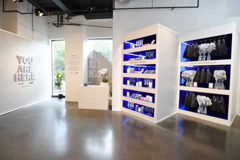 As the Official Payment Technology Partner, Visa's Everywhere Fashion Week Pop-up Shop at NYFW: The Shows features all female-founded brands, 100% of the purchase price of products sold will benefit Women's World Banking. (Photo: Business Wire)