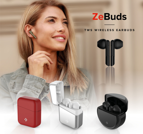 ZeBuds Collection (Photo: Business Wire)
