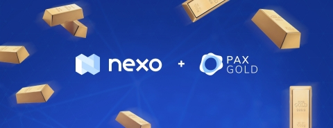 Nexo Adds PAX Gold as Collateral Option, Eyes Earn Interest on Gold Accounts (Graphic: Business Wire)