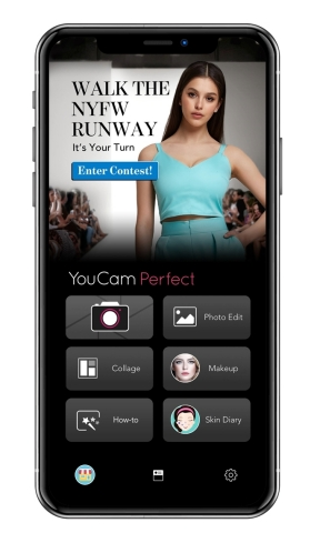 Perfect Corp. launches a fashion week photo editing contest to challenge creative minds to discover the newest features in the YouCam Perfect App photography toolkit. (Photo: Business Wire)