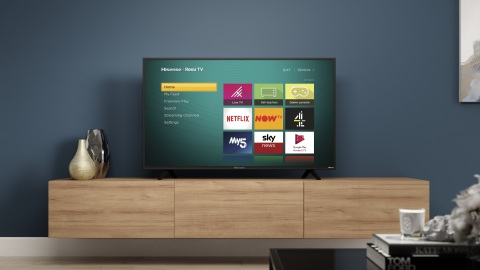 Hisense Roku TV coming to the UK this fall (Photo: Business Wire)