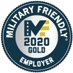 Gold Military Friendly Employer (Graphic: Business Wire)