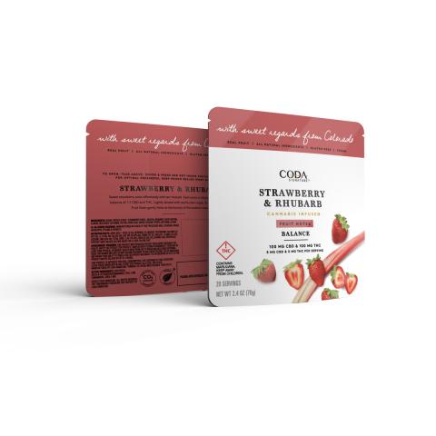 Coda Signature Strawberry & Rhubarb Fruit Notes (Photo: Business Wire)