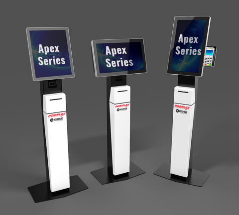 KIOSK and Posiflex Introduce the Apex Series (Graphic: Business Wire)